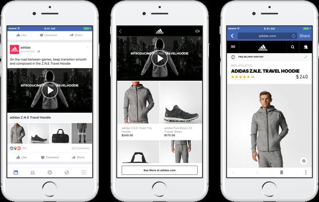 anuncio de catálogo de facebook